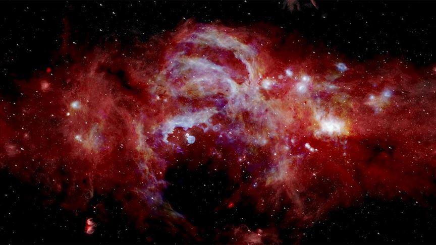 NASA Samanyolu Galaksisi'nin merkezini görüntüledi