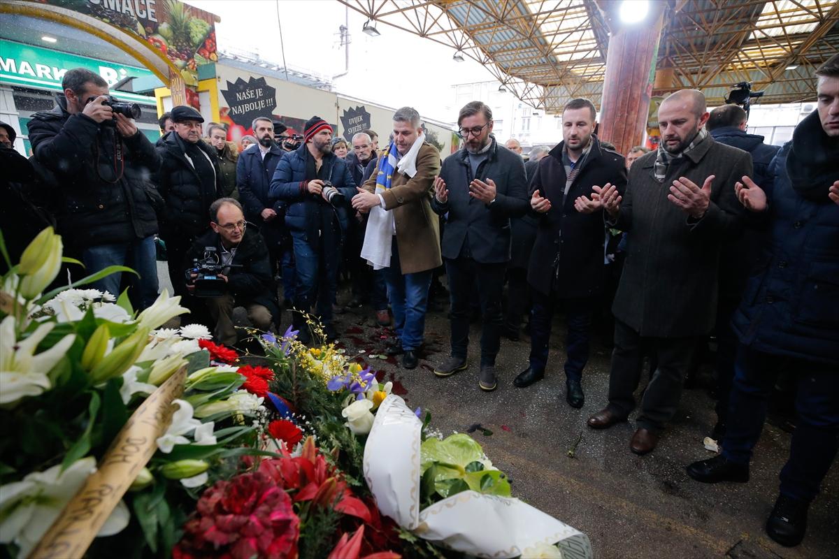 Saraybosna'daki Markale Katliamı'nın kurbanları anıldı