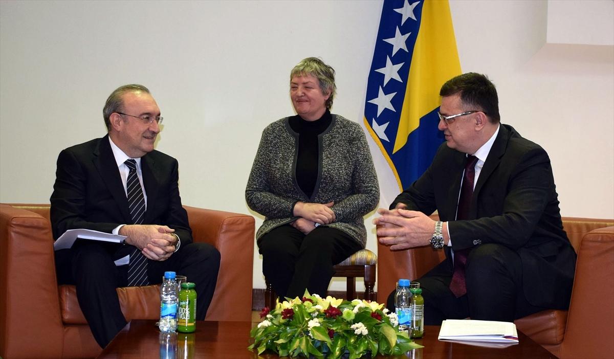Bosna Hersek Saraybosna-Belgrad Otoyolu'nun bir an önce tamamlanmasını istiyor