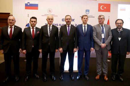 Türkiye-Slovenya İş Forumu