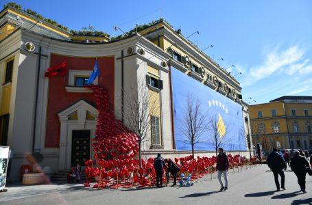 Kosova'nın bağımsızlığının 12. yıl dönümü çeşitli etkinliklerle kutlandı