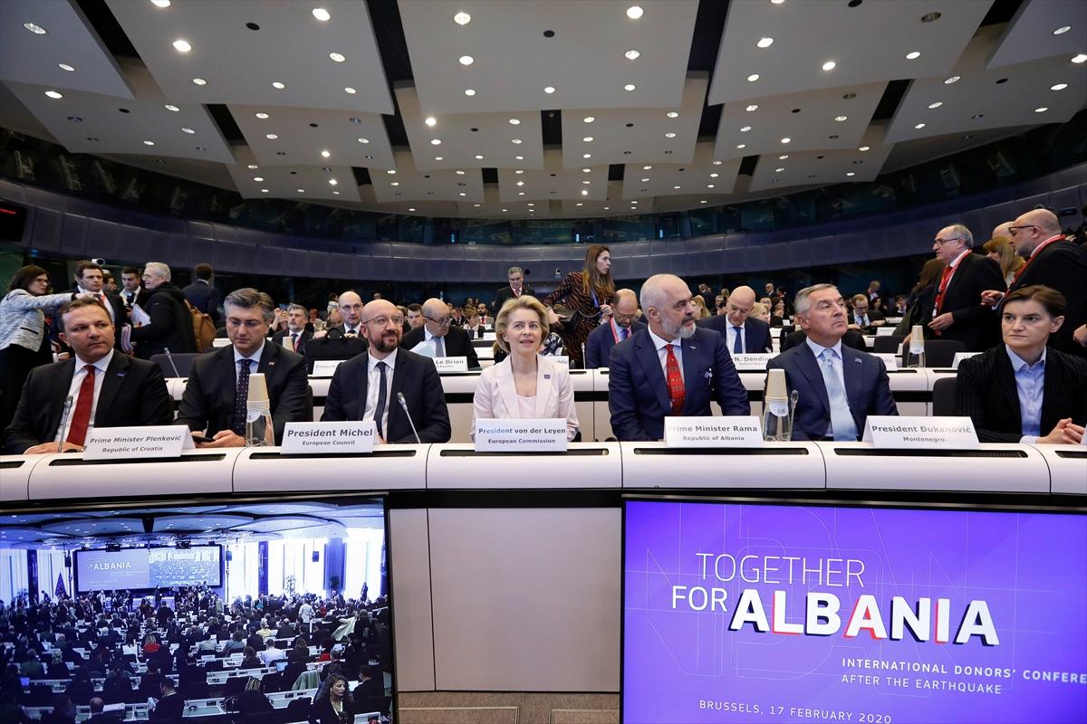 Uluslararası Bağışçılar Konferansı'nda Arnavutluk'a 1,15 milyar avro yardım taahhüdü