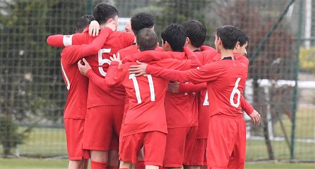 14 Yaş Altı Türkiye Milli Futbol Takımı, KuzeyMakedonya'yı 6-0 yendi