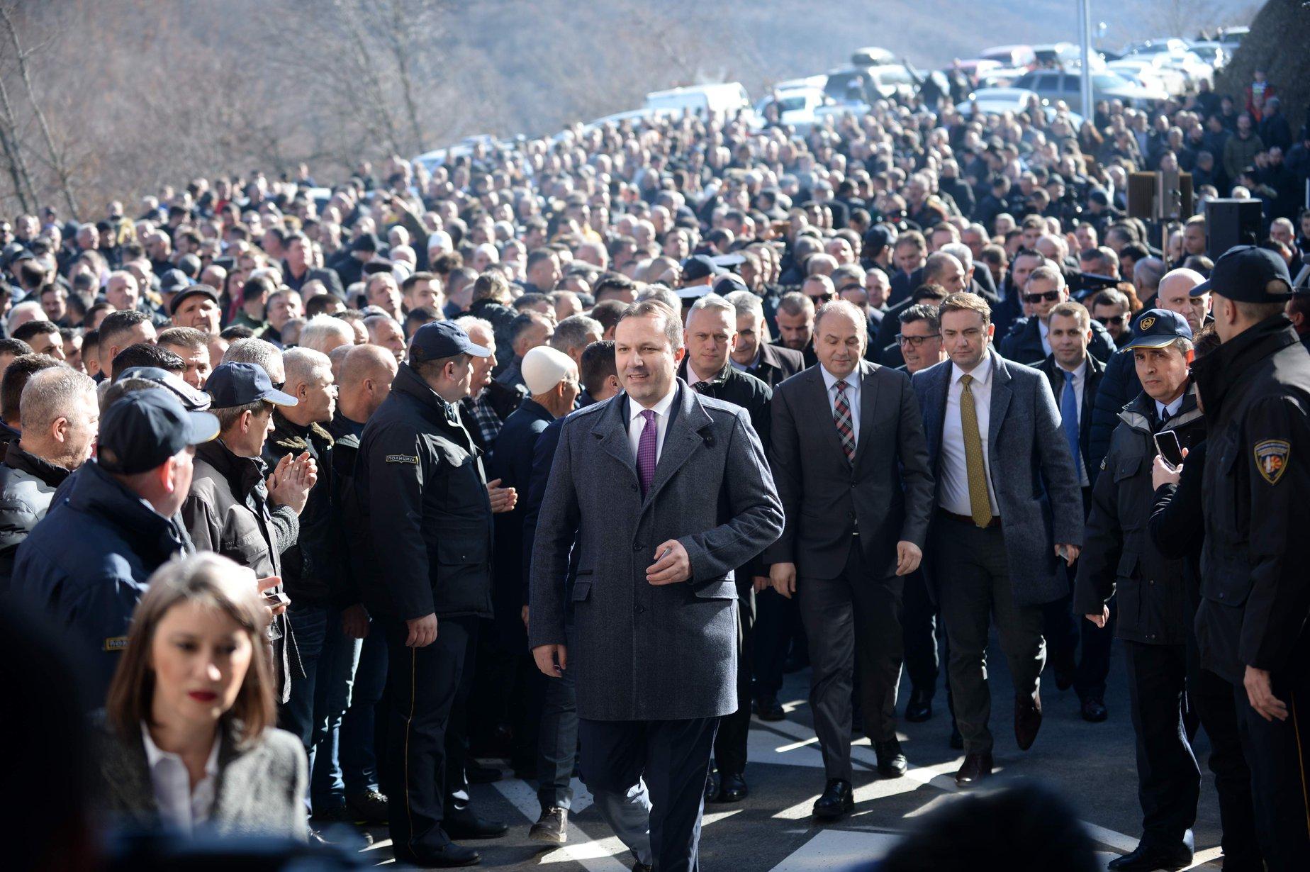 Kuzey Makedonya – Kosova arasında yeni sınır kapısı açıldı