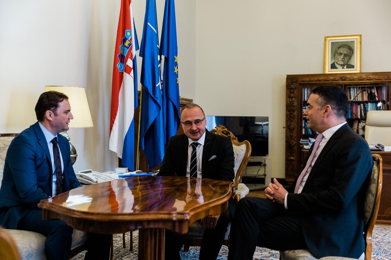 Hırvatistan Dışişleri Bakanı Grliç – Kuzey Makedonya'nın yeri AB'dedir