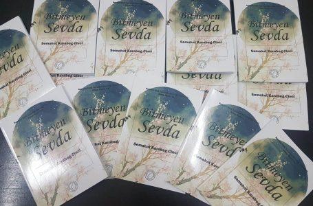 """Priştineli şair Semahat Cinci'nin """"Bitmeyen Sevda"""" şiir kitabı yayınlandı"""