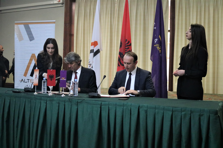 Arnavut İttifakı ve Alternativa seçim öncesi koalisyon anlaşmasını imzaladı
