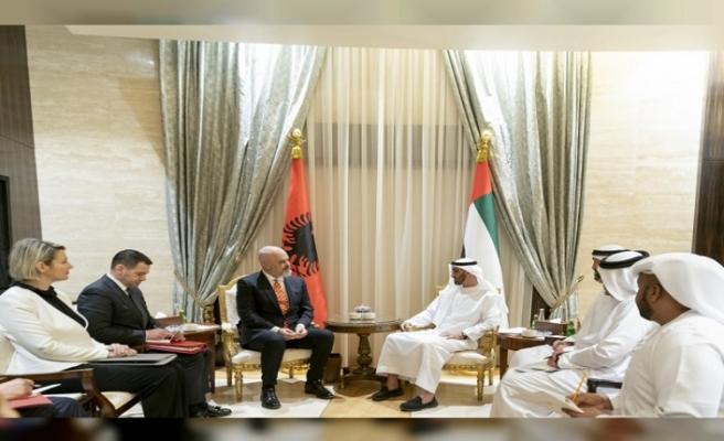 Arnavutluk Başbakanı BAE prensi Nahyan'ı ziyaret etti