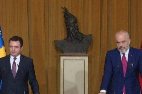 Kosova ve Arnavutluk ortak hükümet toplantısı İşkodra'da yapılacak