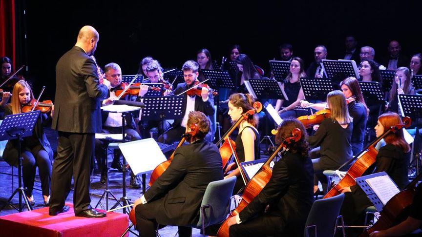 Balkan Senfoni Orkestrasından klasik müzik konseri