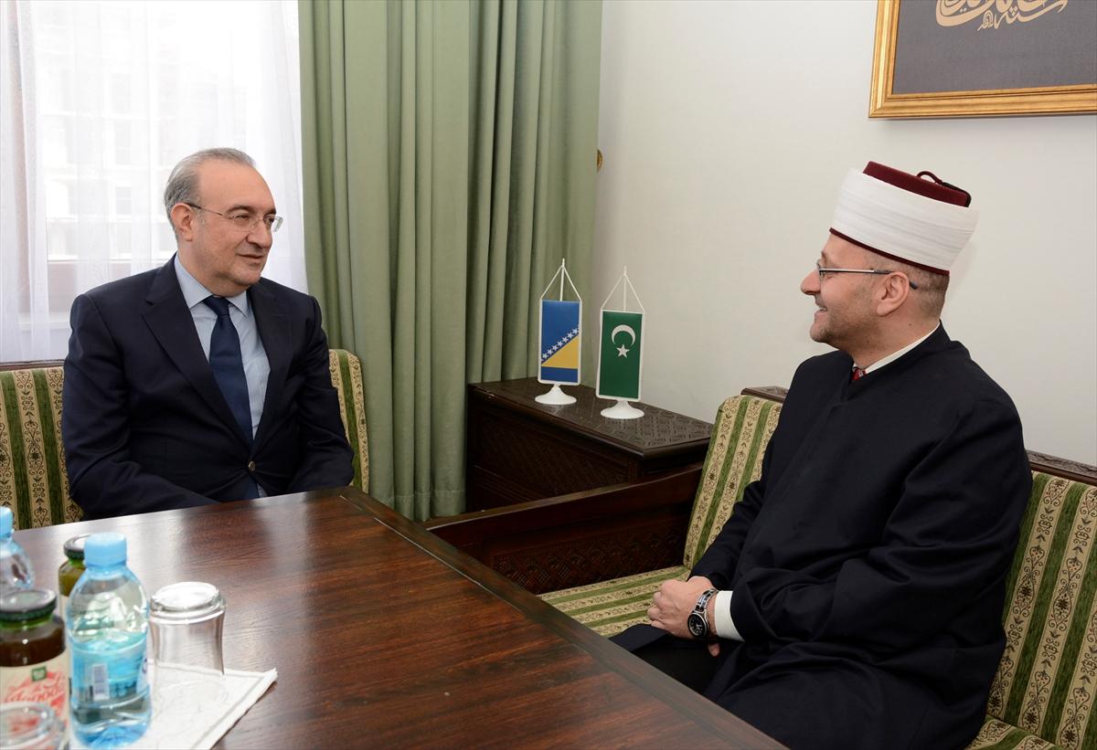 Türkiye'nin Saraybosna Büyükelçisi Koç, Mostar'da temaslarda bulundu