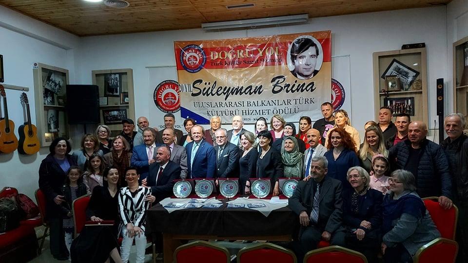 """Seyhan Yakupi, """"Süleyman Brina"""" Ödülü'ne layık görüldü"""