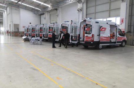 Türkiye'den Arnavutluk'a ambulans yardımı