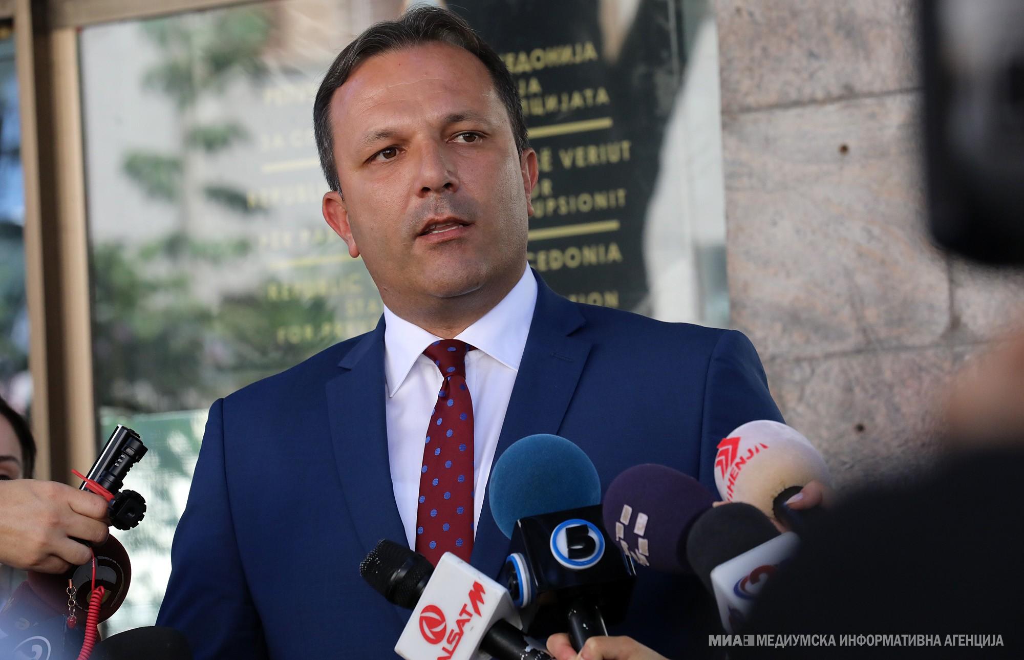 Spasovski: Makedon dili ve Makedon kimliği kimsenin tartışmaya hakkı olmadığı konulardır