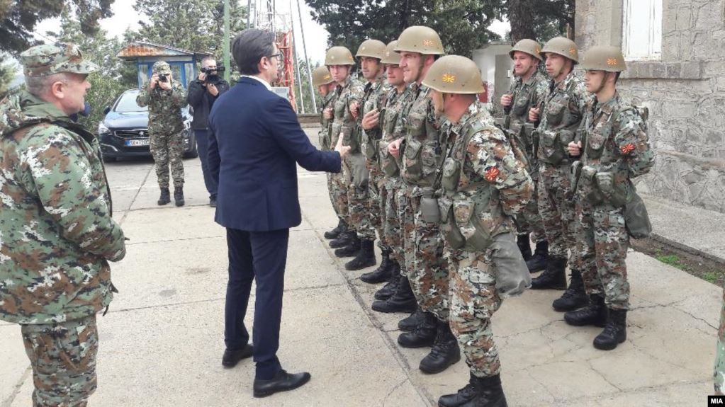 Pendarovski: Kuzey Makedonya – Yunanistan sınırında durumlar stabil