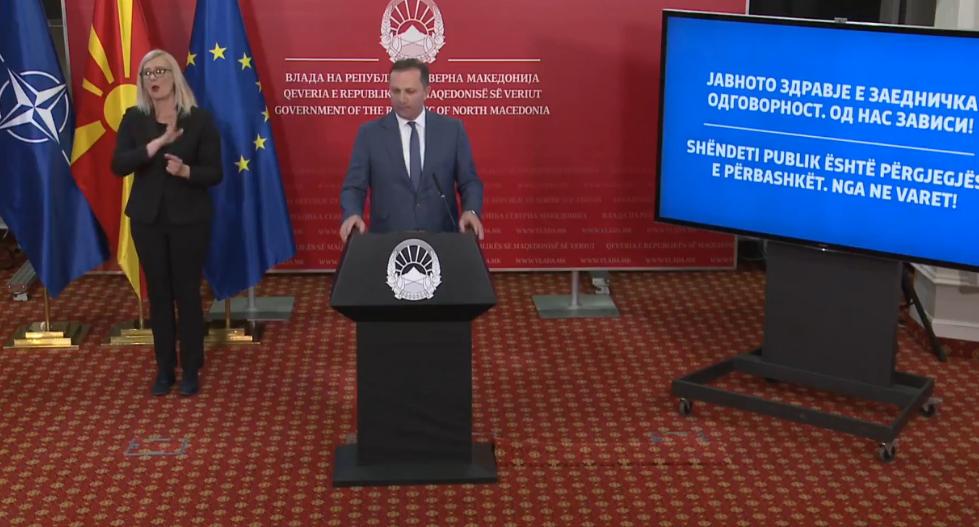 Başbakan Spasovski: Tüm devlet yetkilileri, Nisan ve Mayıs aylarında asgari ücrette maaş alacak