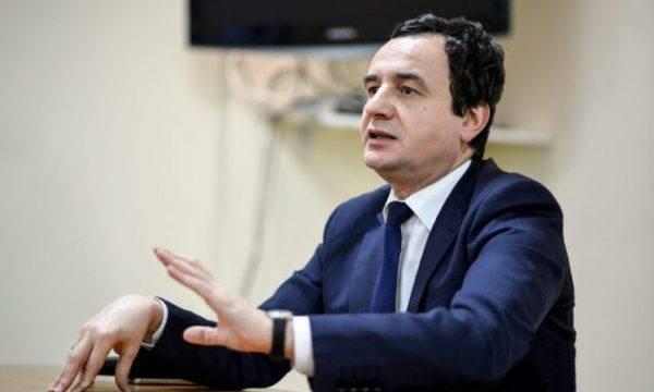 Kosova Başbakanı Kurti: ABD Kosova'dan güçlerini geri çekmeyecek