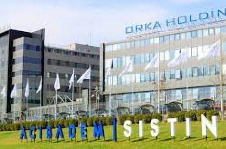 Orka Holding ve Acıbadem'den 325 bin euro bağış