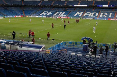 Santiago Bernabeu Stadı Kovid-19'la mücadelede 'sağlık deposu' olacak