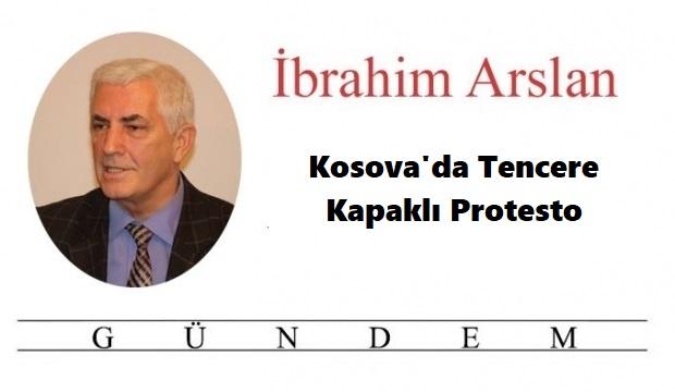 Kosova'da Tencere Kapaklı Protesto