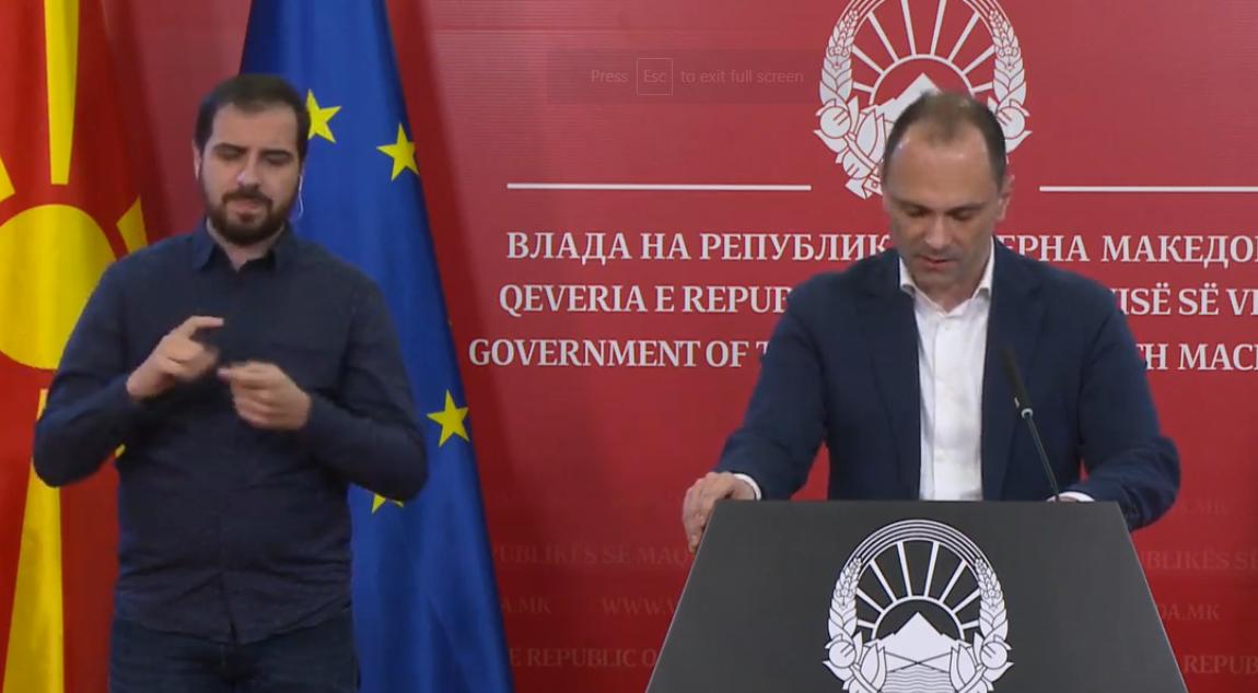 Kuzey Makedonya'da koronavirüs krizinin bir ay içinde zirveye ulaşması bekleniyor