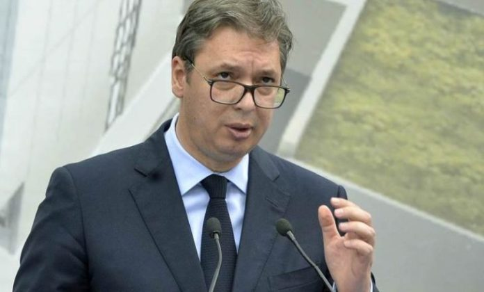 Sırbistan Cumhurbaşkanı Vuçiç, K. Makedonya'ya verilen aşılar hakkında konuştu