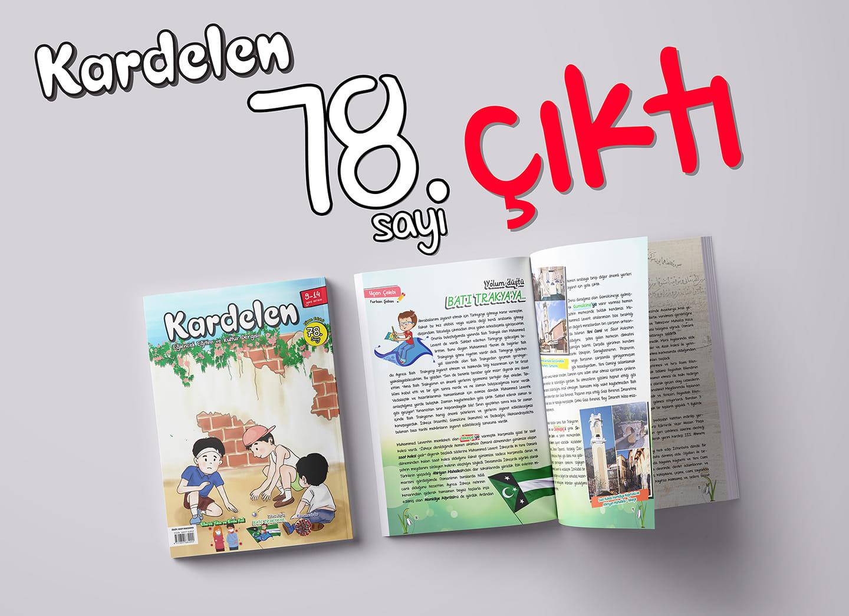 Kardelen Dergisi'nin Nisan sayısı çıktı