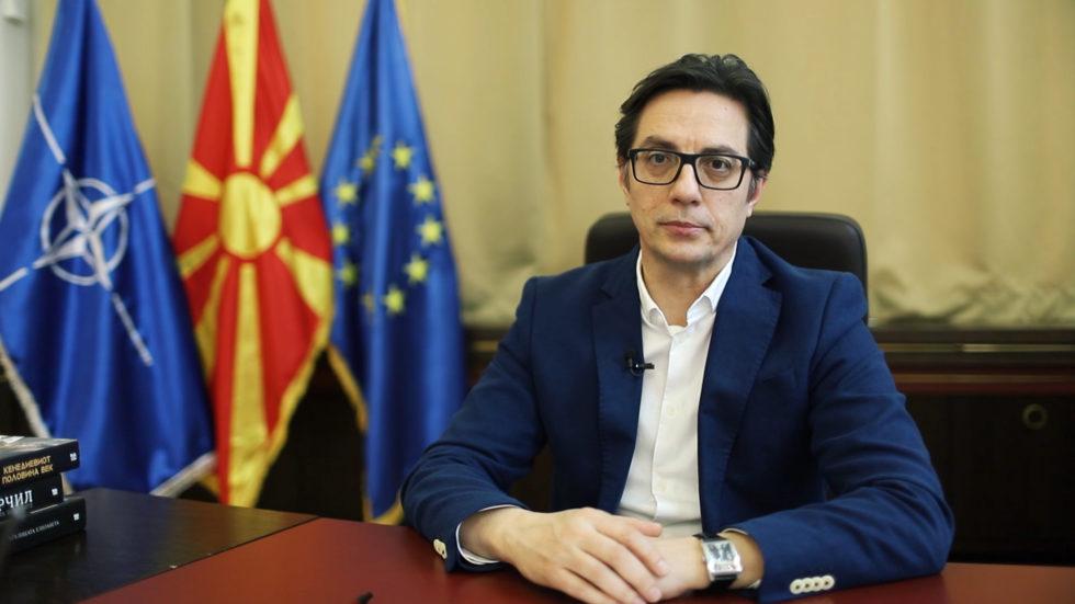 Pendarovski, Erdoğan'la telefon görüşmesi gerçekleştirdi