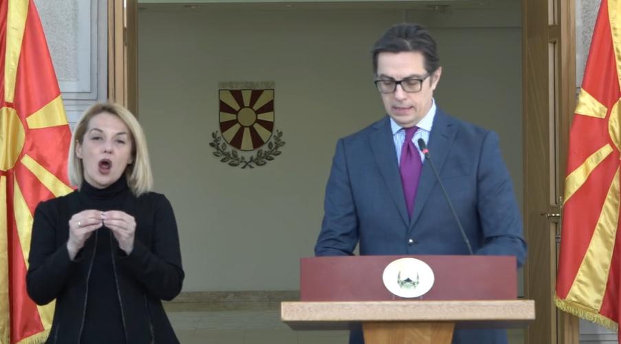 Cumhurbaşkanı Pendarovski: OHAL devam edecek