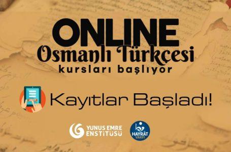 Osmanlı Türkçesi online kurs kayıtları başladı