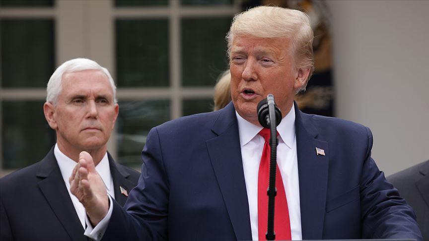 Trump Kovid-19'un ikinci dalgası olursa ekonomiyi durdurmayacaklarını açıkladı