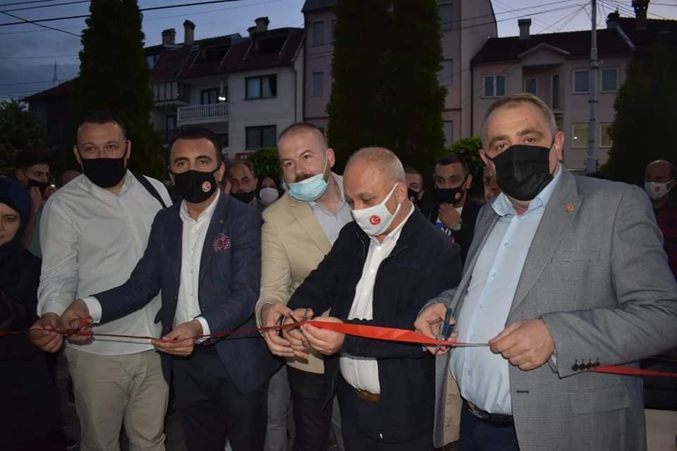 TDP Gostivar Şubesi seçim bürosunun açılışını yaptı