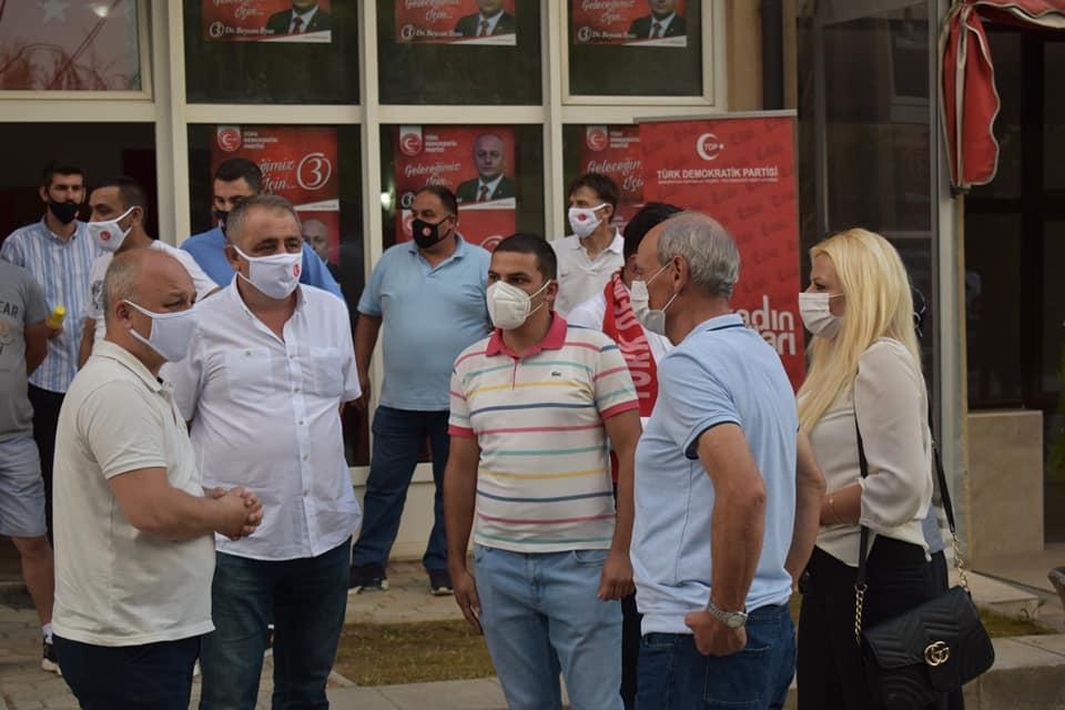 TDP seçim kampanyasına Vrapçişte'de devam etti