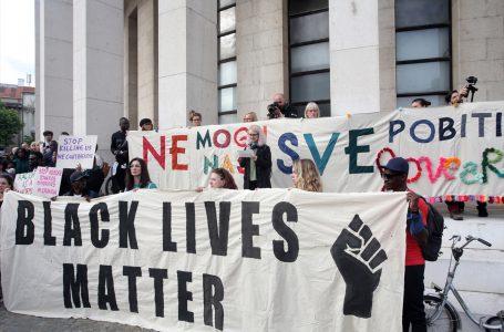 Hırvatistan'da ırkçılığa ve polis şiddetine karşı gösteri düzenlendi