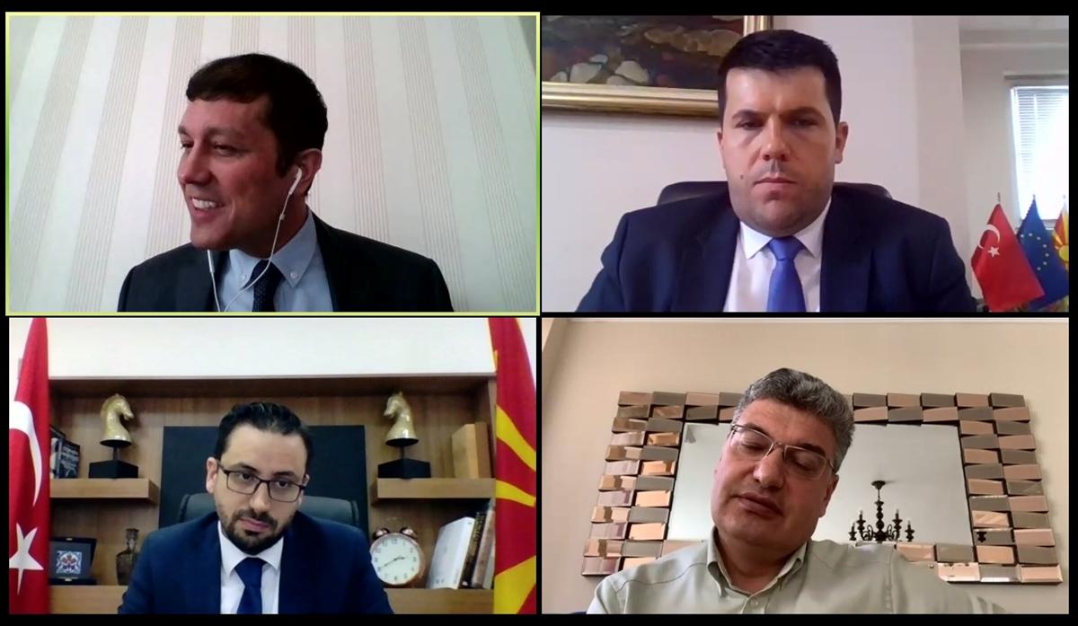 """""""Kuzey Makedonya'da İş ve Yatırım Fırsatları"""" konulu toplantı düzenlendi"""