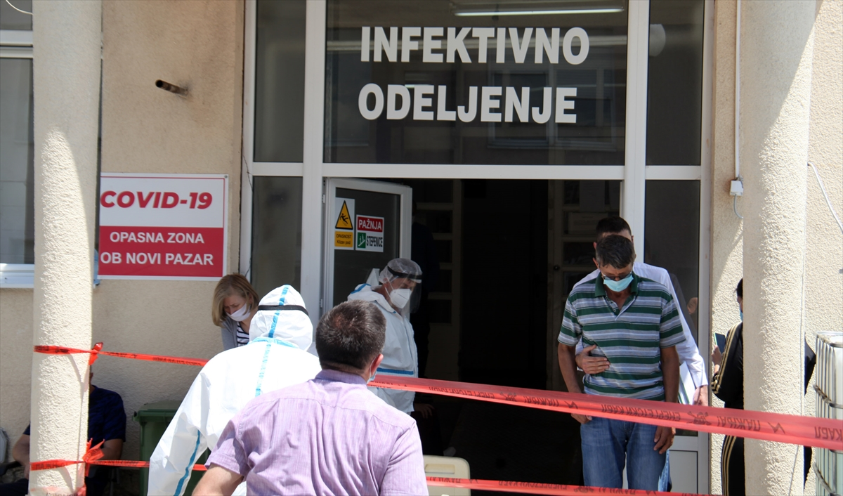 Sancak halkı, bölgedeki Kovid-19 vakalarının artmasından endişe duyuyor