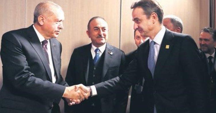 Erdoğan ve Miçotakis telefonda görüştü