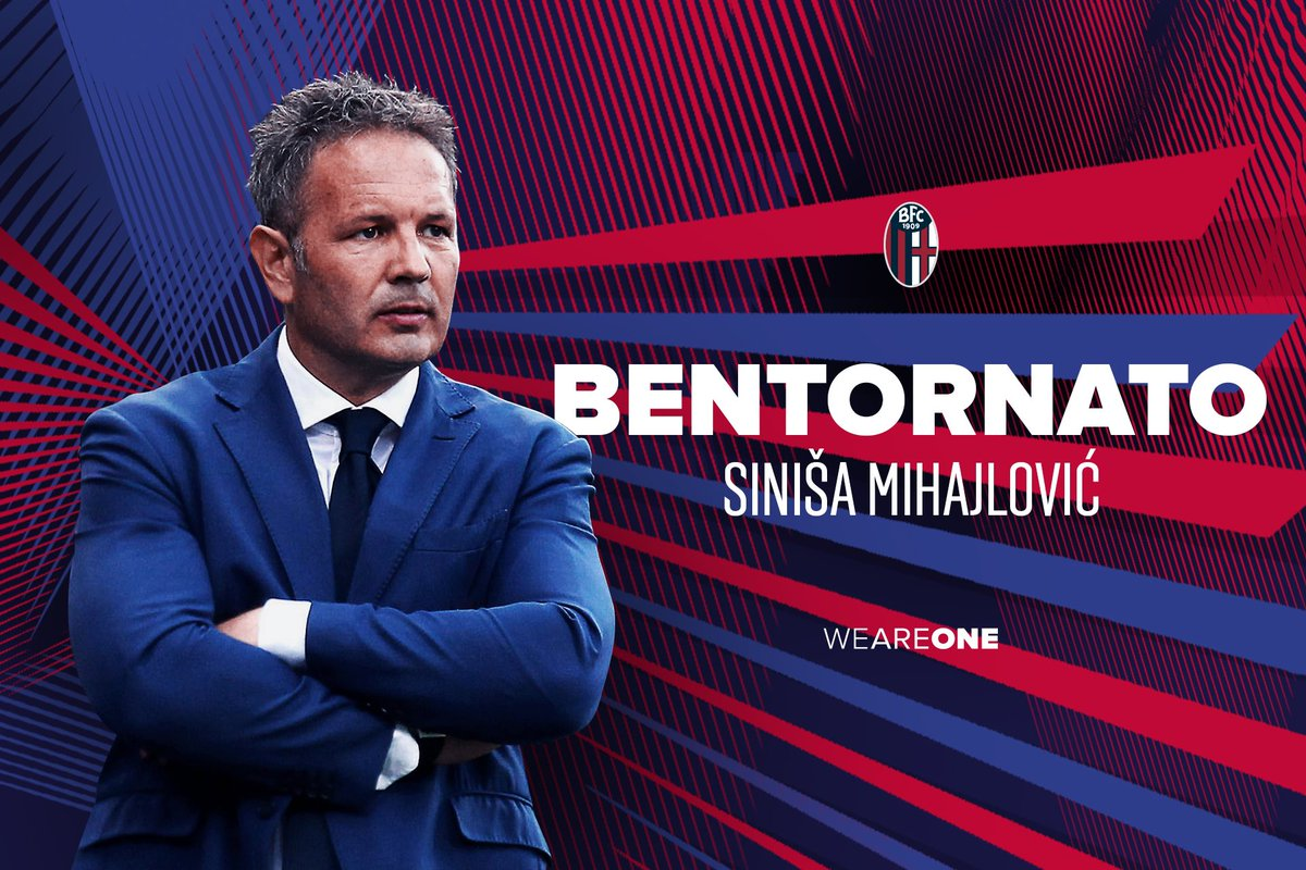 Sırp teknik direktör Mihajlovic, Bologna'daki sözleşmesini uzattı
