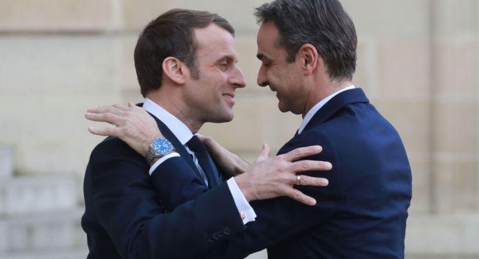 Miçotakis ile Macron Türkiye'yi görüştü