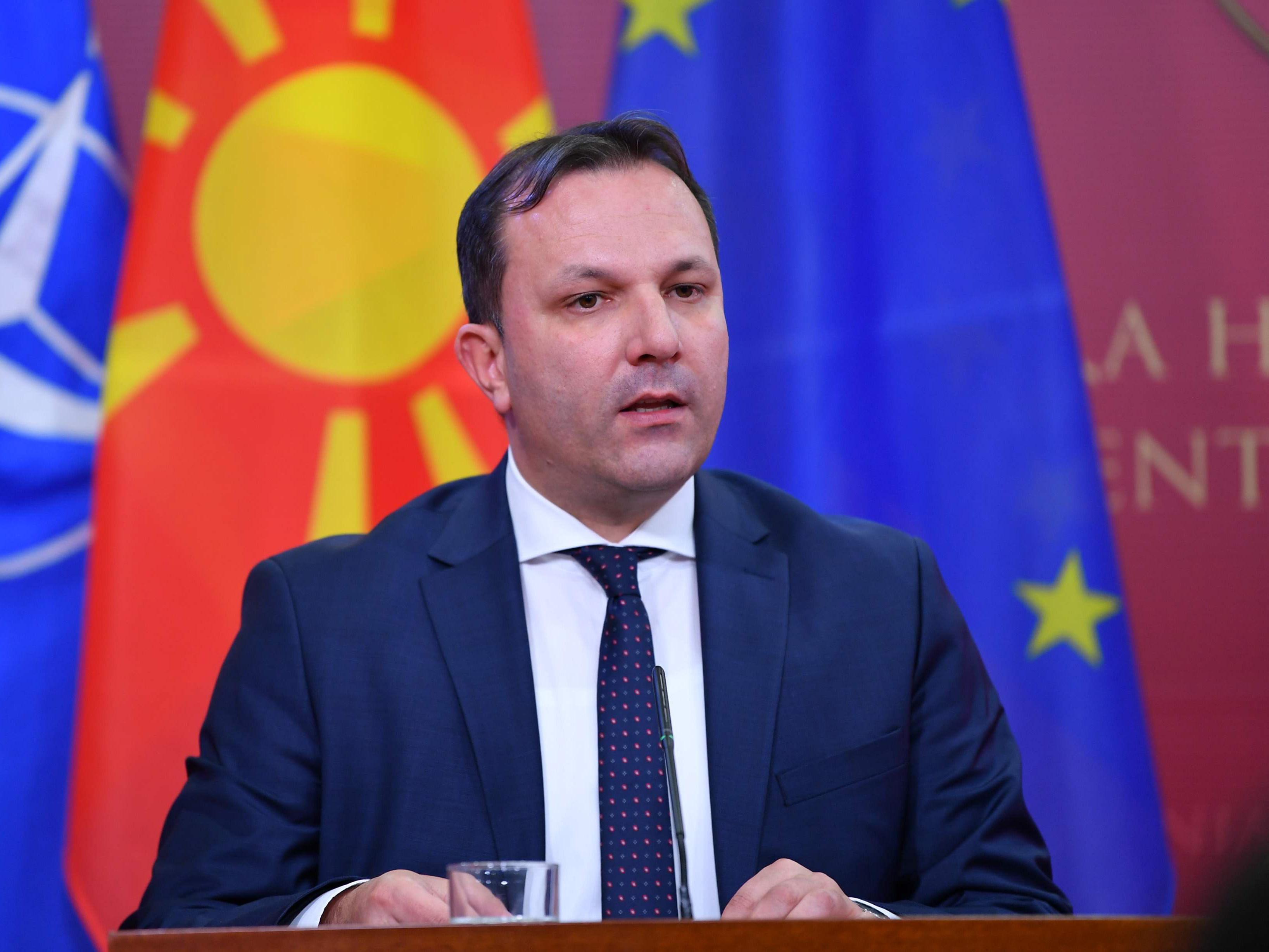 Kuzey Makedonya İçişleri Bakanı Spasovski koronavirüse yakalandı