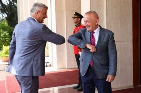 Arnavutluk Cumhurbaşkanı Meta, Kosovalı mevkidaşını ağırladı
