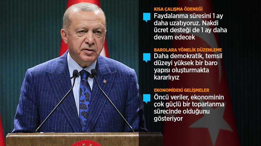 """""""Türkiye, kendi kendine yeterli olmanın ötesinde tüm dostları için ümit kapısı haline geldi"""""""