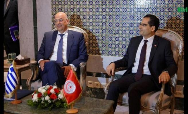 Tunus lideri Yunanistan Dışişleri Bakanı ile Libya meselesini görüştü
