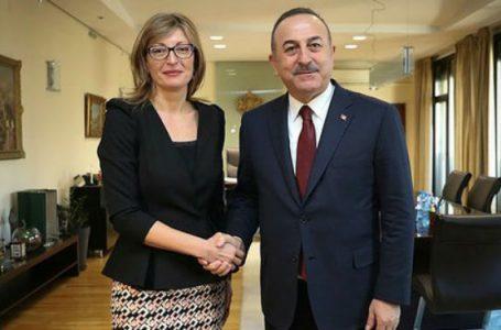 Çavuşoğlu, Hırvat ve Bulgar mevkidaşlarıyla görüştü
