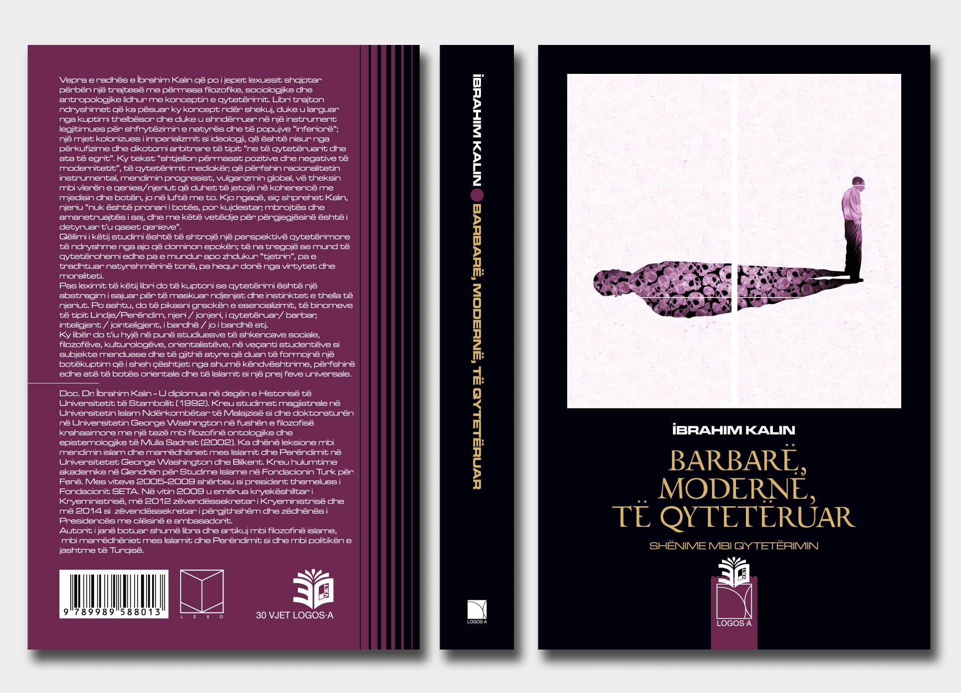 """İbrahim Kalın'ın """"Barbar, Modern, Medeni"""" kitabı Arnavutça'ya tercüme edildi"""
