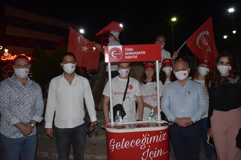 TDP Radoviş'te halkla buluşma toplantısı düzenledi