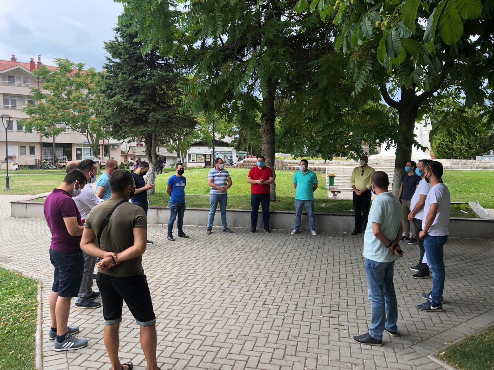 THP seçim kampanyasına Kırçova ve Üsküp'ten devam etti