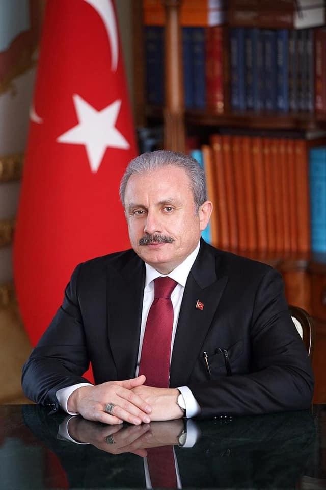 MATÜSİTEB'ten Mustafa Şentop'a tebrik mesajı