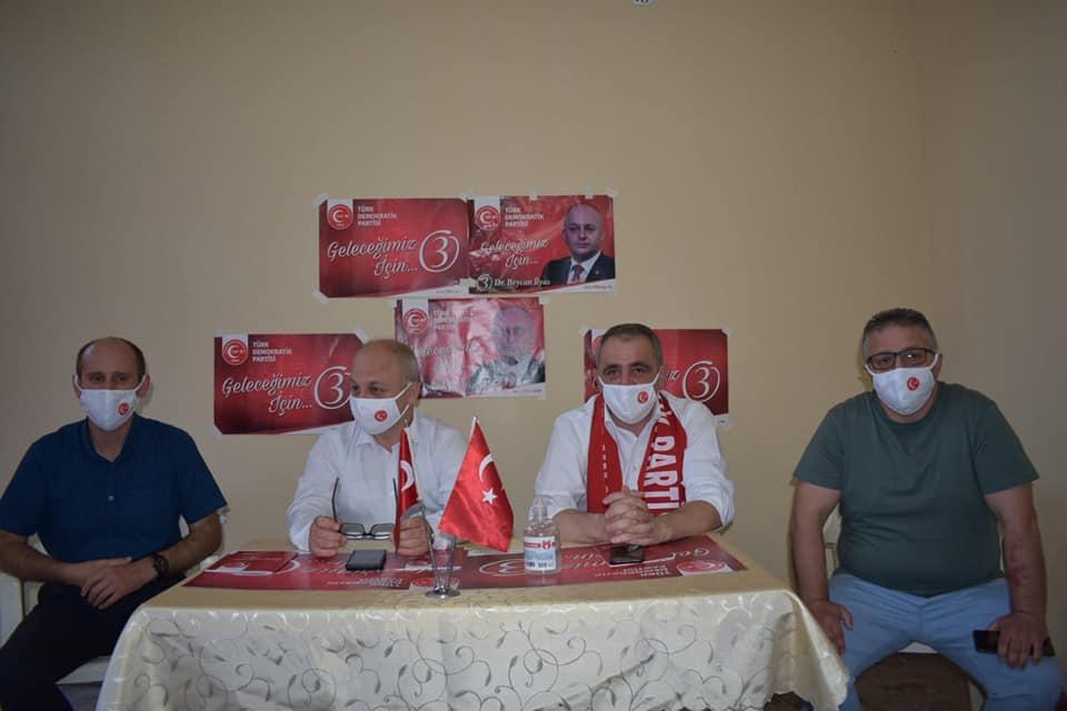 TDP, Yukarı Banisa'da halkla buluşma toplantısı düzenledi
