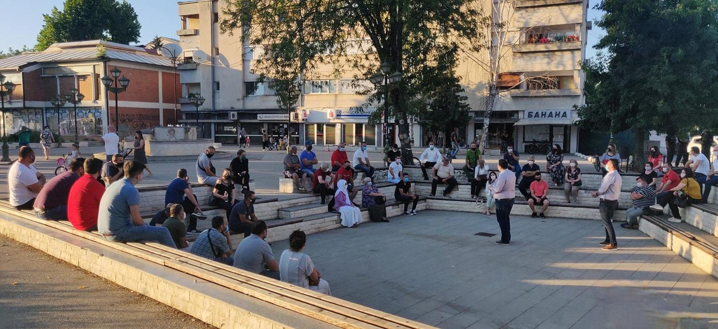 THP seçim kampanyasına Ohri'de devam etti